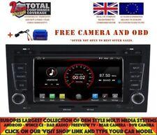 AUTORADIO GPS WIFI BT ANDROID 9.1 DAB+ CARPLAY WIFI AUDI A4 S4 RS4 02-08 K5764
