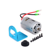 540 Brushed Motor Adjustable Mount W/Fan 27T Gear Upgrade Parts for 1/18 Wltoys