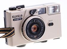 Konica C35 EF3 Gold  mit Konica Hexanon 35 mm f 2,8 Getestet Top RAR ( 636 )