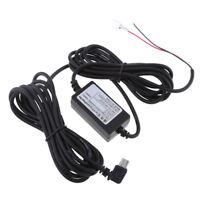 Car Dash Cam Hardwire Kit da 12 / 24V a 5V Cavo adattatore Mini USB a forma