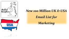 New 100 Million UK & USA email List for Marketing & Business Targeted Email List