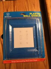 Westinghouse Wall Shield 2 Gang Clear Carded