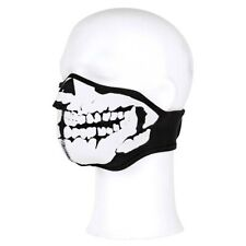 Face Mask Mund-Nasen-Maske Neoprene Skull Face Mask Mouth Mask Skull Biker