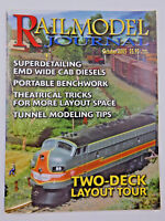 Railmodel Journal 2005 October Two-Deck Layout, Tour Portable Benchwork