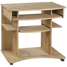 Solid Pine Study Computer Laptop PC Desk Table Home Office