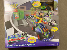 Disney Toy Story RC's Race Gear Gas & Go Playset!