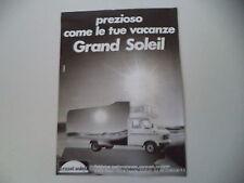 advertising Pubblicità 1982 CARAVAN GRAND SOLEIL
