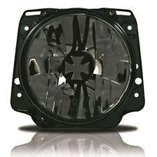 For VW Golf 2 MK2 Iron Cross Clear Black Headlight Head Light  GTI 83-92 LHD/