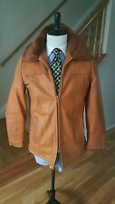 COOPER  Brown Genuine  Leather Jacket  Men size 40