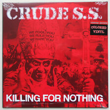 Crude S.S. - Killing For Nothing LP BLUE VINYL Mob 47 Anti Cimex Headcleaners HC