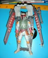 "Star Wars Boba Fett POTF Figure With Wing Blast 1996 Kenner 3.75"" Scale"