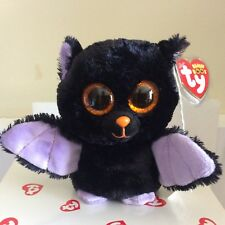 "TY Beanie Boo SWOOPS the Bat 6"" Sparkle Eyes MWMT"