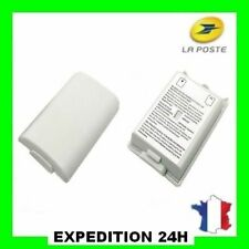 Cache Pile Blanc pour manette Xbox 360 - Boîtier, Couvercle Batterie Top Qualité