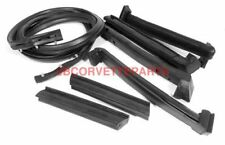 86-89 Corvette Convertible Top Weatherstrip Kit NEW 7 Piece Import