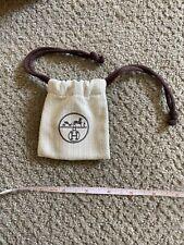 New listing Hermes Herring belt buckle Dust Bag