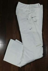 PATAGONIA Women's White Insulated Snow Ski Pants Sz S ($379)