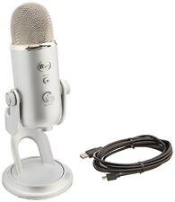 Blue Microphones Yeti Studio Microphone USB Argenté