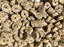 "Cork Rings 12 Wave Burl  #1,  1 1/4"" x 1/2"" x 1/4"" Hole"