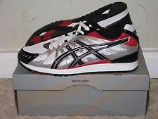 Asics Gel Shinzo White/Black/Red Mens Size 10.5 DS NEW!! Lyte III V Saga
