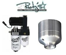 FASS Titanium Fuel Pump & Fuel Filter Delete 150GPH 11-14 GM Duramax 6.6L LML