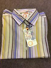 Remus Uomo Cotton Long Sleeve Stripe /Multi - Medium