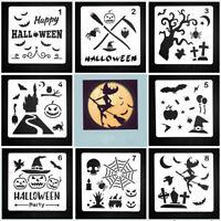 DIY Craft Halloween Layering Painting Stencils Embossing Paper Card Template