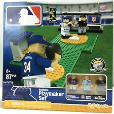 OYO Sports MLB Buildable Playmaker Set 87 PCS Syndergaard Rizzo MLB Umpire