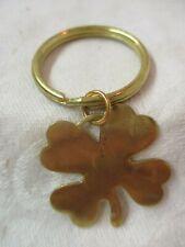 Vintage Gold tone 4 Leaf Clover