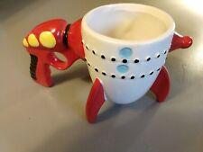 Novelty Ceramic Mug Coffee Cup - The Retro Ray Gun Rocket