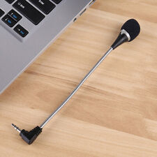 1pc 2019 3.5mm Flexible Mini Microphone Mic for Laptop Notebook PC Podcast Mi.bl