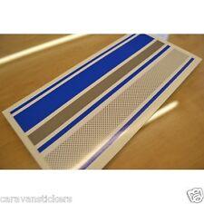 BAILEY Discovery (BLUE) Caravan Stripe Sticker Decal Graphic - 2 METRE LENGTH