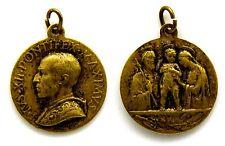 Medaglia Religiosa Pius XII Pontifex Maximus (Mistruzzi) Bronzo Diametro cm 2,5