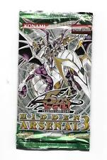 YuGiOh Hidden Arsenal 3 Unopen Booster Pack first edition English 5 cards