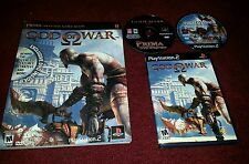 God of War Greatest Hits Sony PS  2 Used with strategy guide and bonus dvd