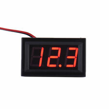 Mini DC 5-30V Voltmeter LED Panel 3-Digital Display Voltage Meter 2-wire hot AT