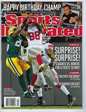 lcw NY Giants Hakeem Nicks Catch Sports Illustrated 1/23 2012 No Mailing Label