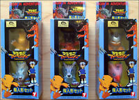 Digimon Adventure (6 FIGURES) Toy Figure YUTAKA 1999 JAPAN Set #1,2,3 RARE ITEM!