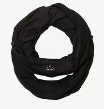 Beyond Yoga Hidden Pocket Infinity Scarf Black Fabfitfun new Sealed