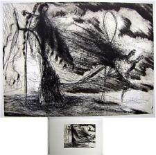 Reproduction de gravure Gérard Garouste 20x15cm