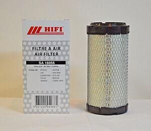 Air Filter SA16056 for BOBCAT Part# 6673752, RS 3715, LAF8388