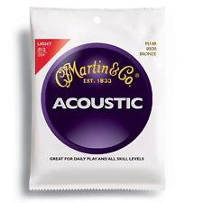 Martin 80/20 Corda di Chitarra Acustica Bronzo Set Light Gauge 012 - 054