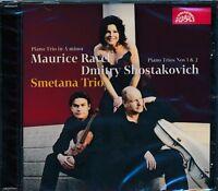 Smetana Trio CD NEW Maurice Ravel Shostakovich Piano In A Minor Piano Trios