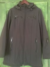Calvin Klein Men's Winter Hooded Jacket.  Water Resistant And Breathable M