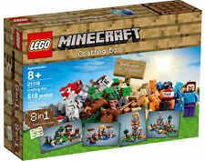 NEU LEGO® Minecraft® 21116 Crafting-Box NEU & OVP 8-in-1 SET Bauanleitungen