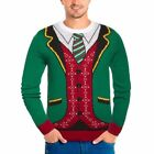 New Men's Michael Gerald Holiday Christmas Ugly Sweater- Free shipping!