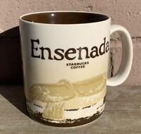 Starbucks Ensenada Mexico Global Icon Series Coffee Cup Mug 2014 16 Fl Oz Whale