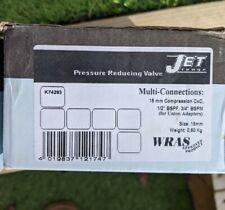 1 X Jet K74263 pressure reducing valve 15mm adjustable prv