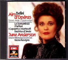 June ANDERSON BELLINI I Puritani La Sonnambula Beatrice di Tenda RESCIGNO EMI CD