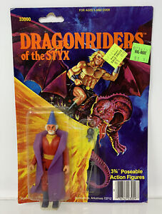 Vintage DFC Dragonriders Of The Styx Wizard Figure MOC