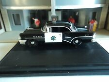 Oxford  1955  BUICK CENTURY California Highway Patrol  CHP 1/87   HO  diecast GM